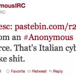 Italian Cyber Police Hacked?